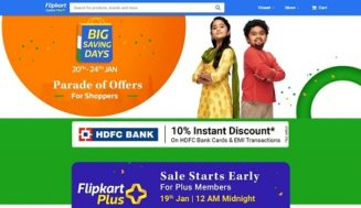 Flipkart Big Saving Days Sale to Start January 20, Discounts on Mobiles, Tablets, TVs, Other Electronics